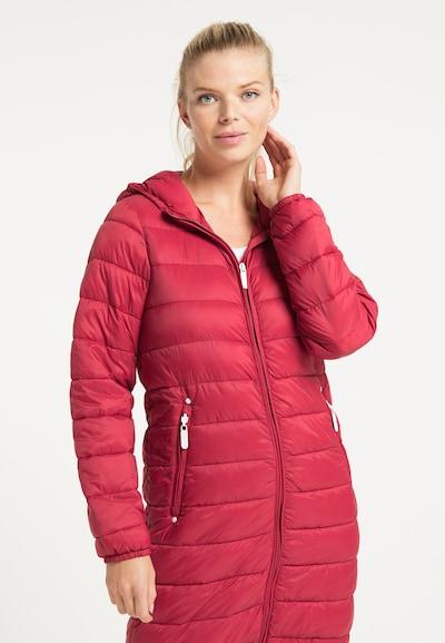 ICEBOUND Mantel in rot, Modelansicht