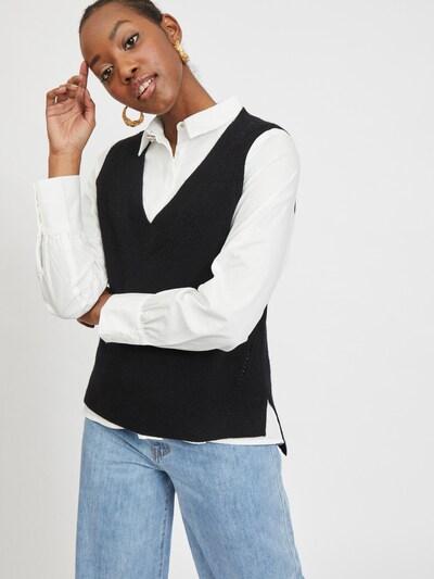 VILA Sweater 'Ril' in Black, View model
