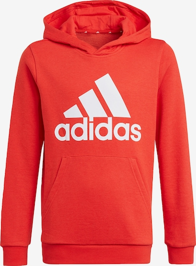 ADIDAS PERFORMANCE Sports sweatshirt in red / white, Item view