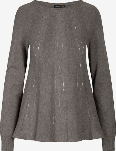 APART Pullover aus softer Viskose Mischung mit Kaschmir in anthrazit, Produktansicht