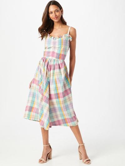Rochie de vară POLO RALPH LAUREN pe culori mixte / alb, Vizualizare model