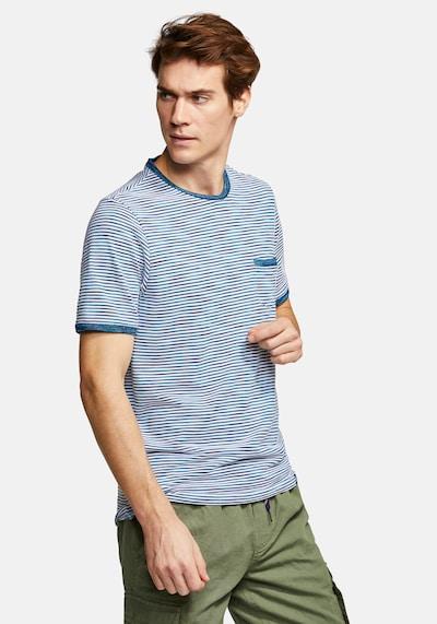 COLOURS & SONS T-Shirt Ringel MARIO in blau / weiß: Frontalansicht