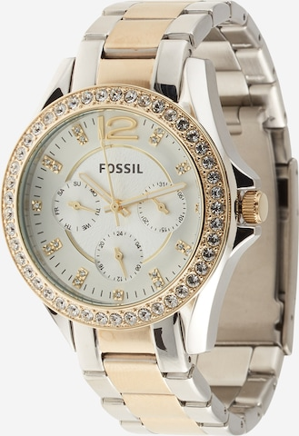 FOSSIL Analog Watch 'Riley' in Gold