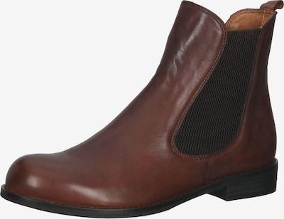 Everybody Chelsea Boots en brun foncé / noir, Vue avec produit