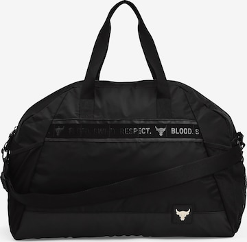 UNDER ARMOUR Sports Bag 'Project Rock' in Black