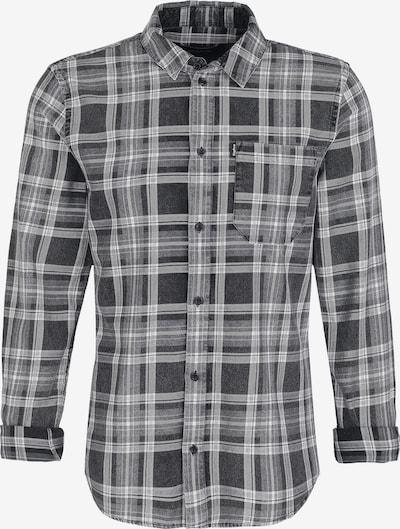 tigha Hemd in anthrazit / schwarz / weiß, Produktansicht