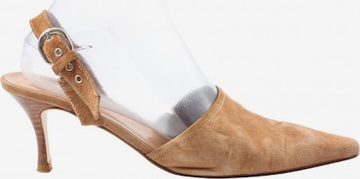 Andrea Puccini Slingback-Pumps in 38,5 in braun, Produktansicht