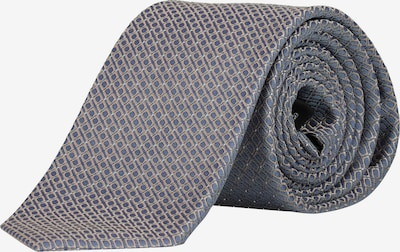 JP1880 Cravate en camel / bleu, Vue avec produit