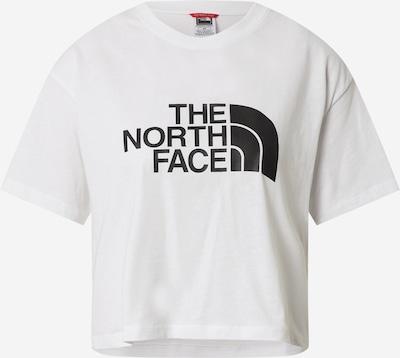 THE NORTH FACE T-shirt 'EASY' i svart / vit, Produktvy