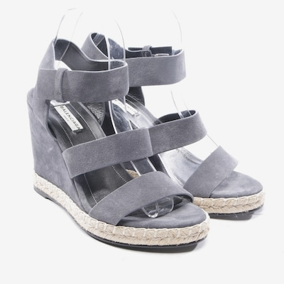 Balenciaga Sandaletten in 39 in grau, Produktansicht