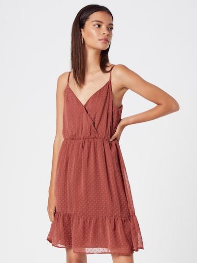 ABOUT YOU Kleid 'Emma' in rostrot, Modelansicht