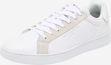 TOMMY HILFIGERNiske tenisice - bijela boja