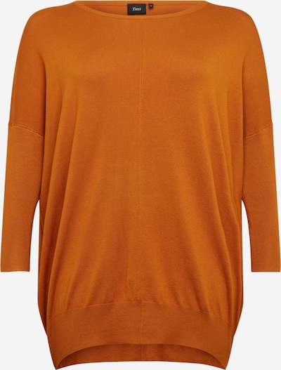 Zizzi Pullover 'Carrie' in orange, Produktansicht