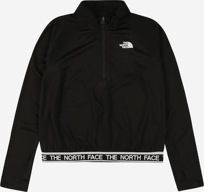 THE NORTH FACE Sportjas 'REACTOR' in de kleur Zwart / Wit, Productweergave