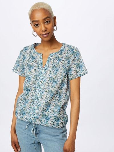 LIEBLINGSSTÜCK Bluse 'Eltje' in azur / hellblau / weiß, Modelansicht