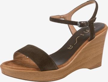 UNISA Sandalette 'Rita' in Grün
