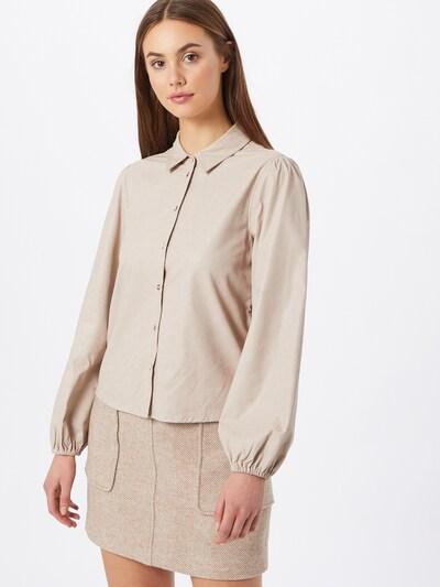 JACQUELINE de YONG Bluse 'London' in beige, Modelansicht