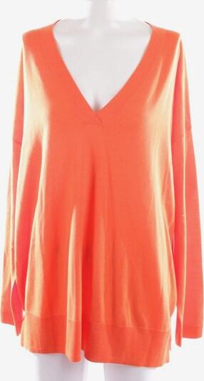 Allude Wollpullover in L in orange, Produktansicht