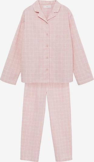MANGO KIDS Pyjama 'Caria' in pink / weiß, Produktansicht