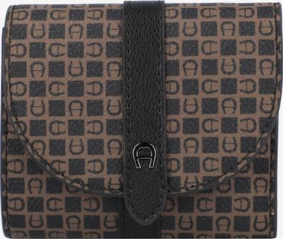 AIGNER Geldbörse 'Adria' in braun / schwarz, Produktansicht