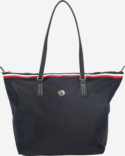 TOMMY HILFIGER Shopper 'POPPY' en navy / rojo / blanco, Vista del producto