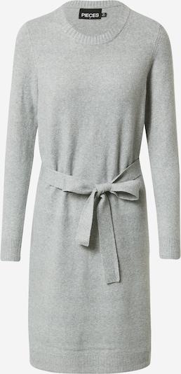 PIECES Kleid 'Cava' in graumeliert, Produktansicht