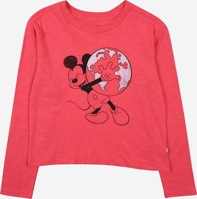 GAP Shirt in pinkmeliert / schwarz / silber, Produktansicht