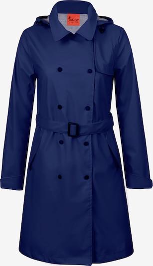 Dingy Rhythm Of The Rain Tussenmantel 'Fundy' in de kleur Blauw, Productweergave