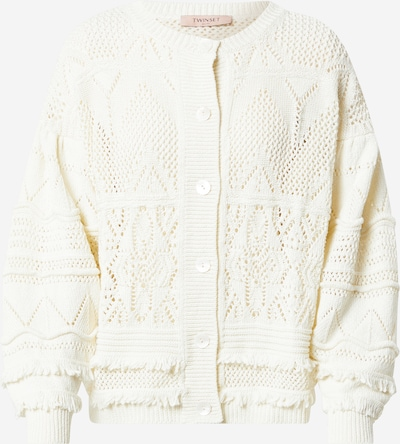 Twinset Knit cardigan in White, Item view