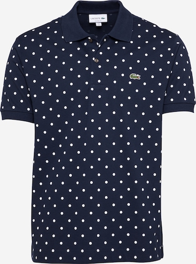 LACOSTE T-Shirt en bleu marine / vert / blanc, Vue avec produit
