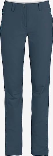 VAUDE Pantalón de montaña 'Skomer II' en azul, Vista del producto