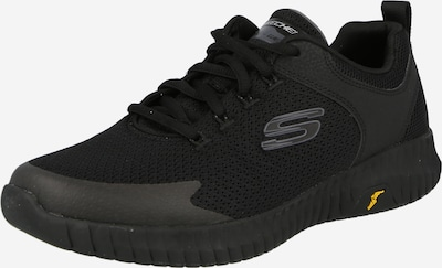 SKECHERS Sneakers laag in de kleur Zwart / Zilver, Productweergave
