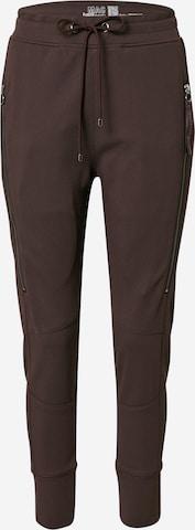 MAC Trousers 'FUTURE' in Brown