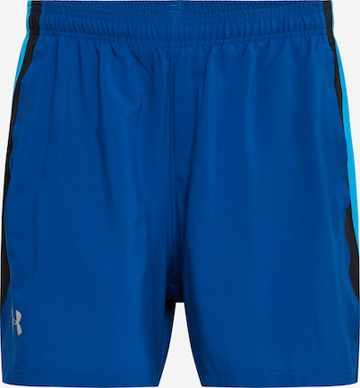 UNDER ARMOUR Shorts in royalblau / cyanblau / schwarz, Produktansicht