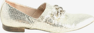 Donna Carolina Flats & Loafers in 38 in Silver, Item view