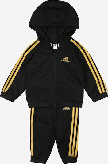 ADIDAS PERFORMANCE Trainingsanzug 'Shiny' in gold / schwarz, Produktansicht