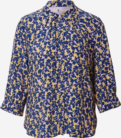 Noa Noa Blouse in blue / yellow / white, Item view