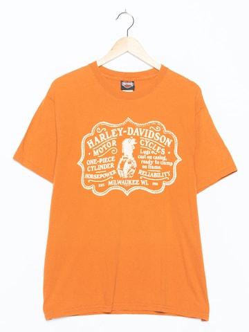 Harley Davidson Top & Shirt in M-L in Orange