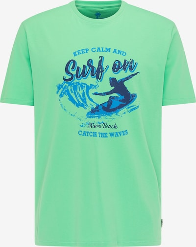 PIONEER T-Shirt in pastellgrün, Produktansicht