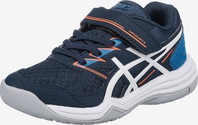 Scarpa sportiva 'UPCOURT GS' ASICS di colore blu / navy / arancione neon / bianco, Visualizzazione prodotti