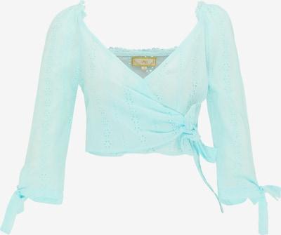 MYMO Blouse in de kleur Aqua, Productweergave
