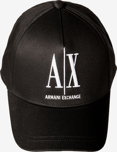 ARMANI EXCHANGE Čiapka - čierna / biela, Produkt