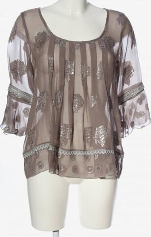 Anna Sui Transparenz-Bluse in M in Braun