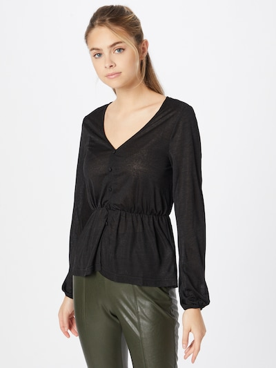 ABOUT YOU Blouse 'Jana' in Black, View model