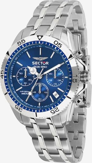 SECTOR Chronograph in blau / silber, Produktansicht