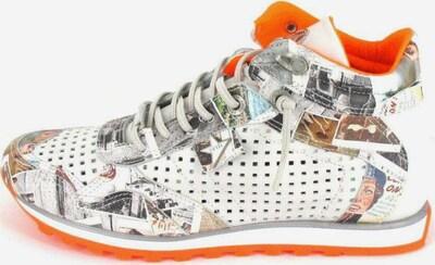 Cetti Sneakers in hellgrau / orange, Produktansicht