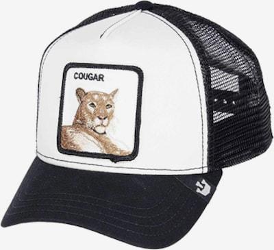 GOORIN Bros. Cap 'Meow meow' in hellbraun / schwarz / weiß, Produktansicht