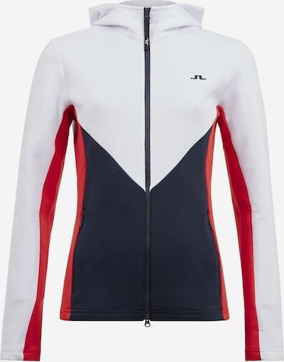 J.Lindeberg Jacke in blau / rot / weiß, Produktansicht