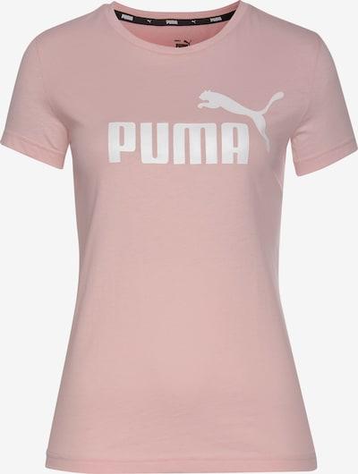 PUMA T-Shirt in rosé / weiß, Produktansicht