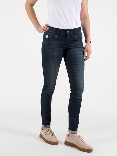 Miracle of Denim Skinny Fit Jeans in blue denim, Modelansicht
